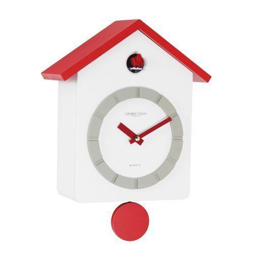 London Clock Co Modern Red Roofed Cookoo Clock, http://www.amazon.co.uk/dp/B00BJ5273I/ref=cm_sw_r_pi_awdl_rFRvtb1ZZJJP0