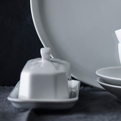 Pillivuyt Covered Butter Dish #williamssonoma & Pillivuyt Covered Butter Dish   Butter dish Butter and Dishes