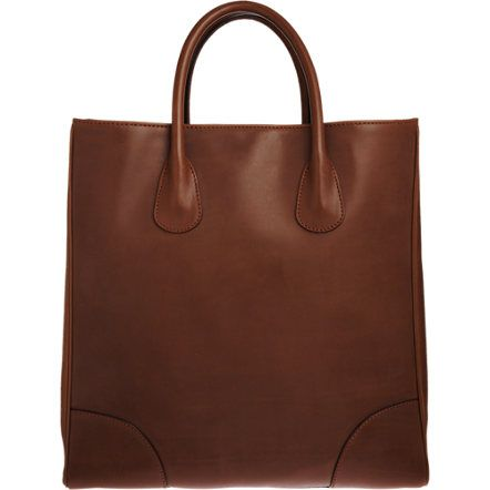 Men's Valextra Tote at Barneys. Like the Celine for women, with a more masculine look.