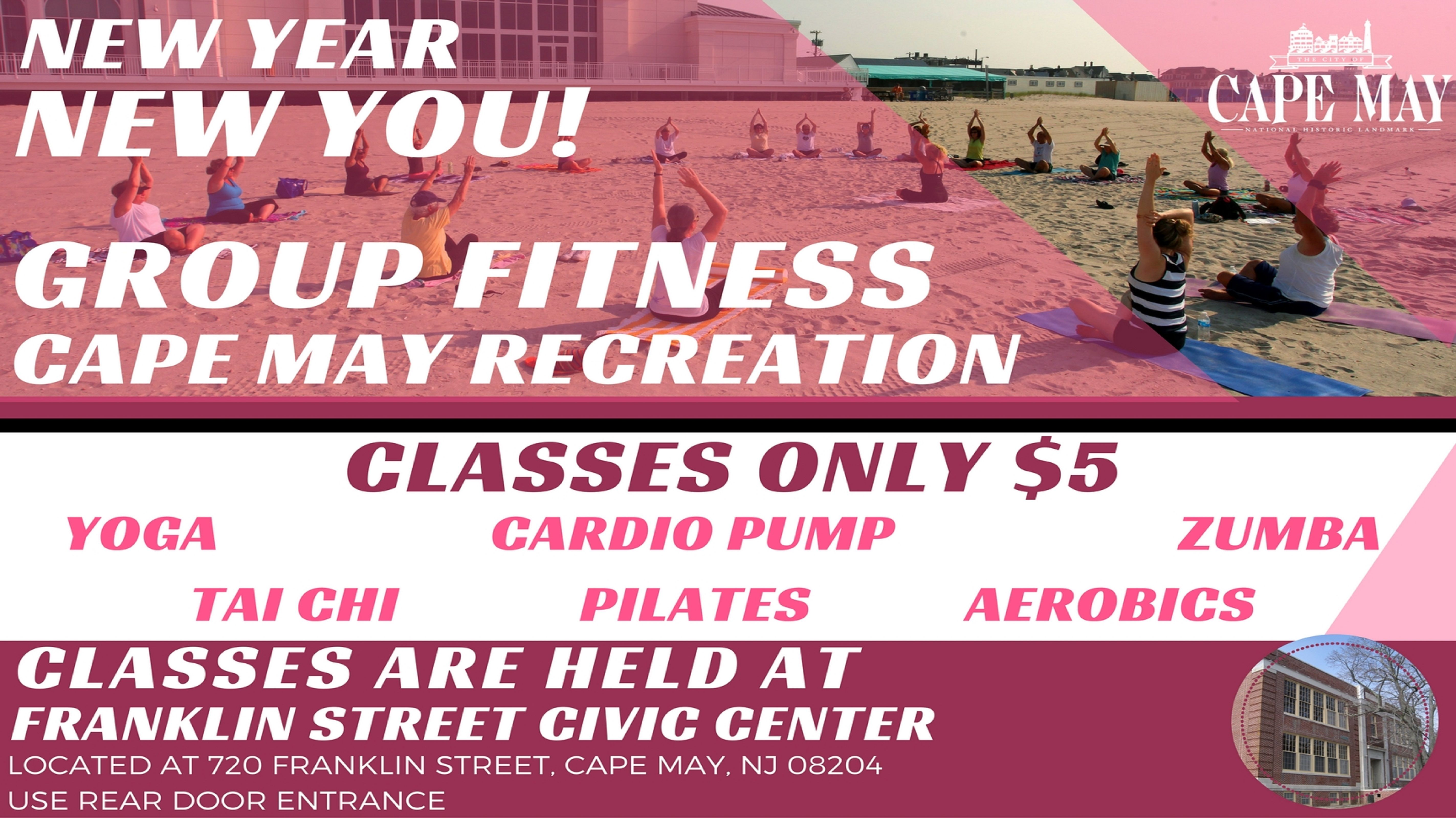 Cape may group fitness capemay fitness cape may group