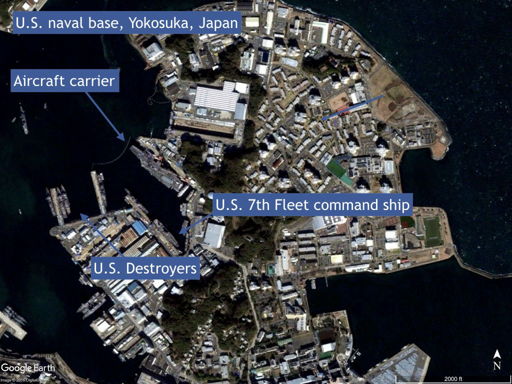 Home Of US Th Fleet Yokosuka Japan USNNaval Base Yokosuka - Us naval bases in japan map