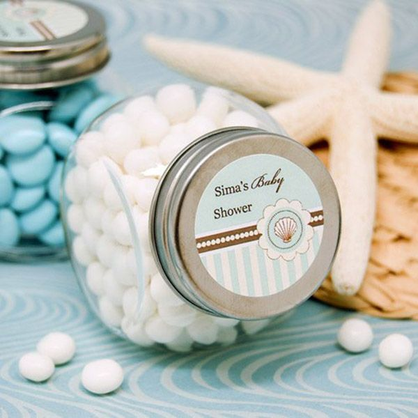 Mints Favor Beach Themed Baby Shower Decorations