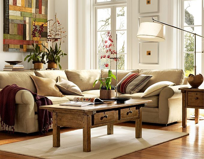 28 Elegant And Cozy Interior Designs By Pottery Barn Pottery Barn Living Room Classic Living Room Home Living Room #pottery #barn #living #room #tables