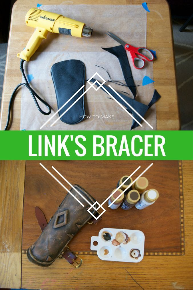 Botw Link Cosplay The Bracer Legend Of Zelda Crafts And