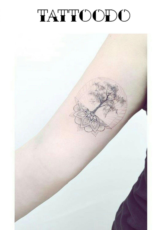 interesting idea mandala and tree tattoos pinterest. Black Bedroom Furniture Sets. Home Design Ideas