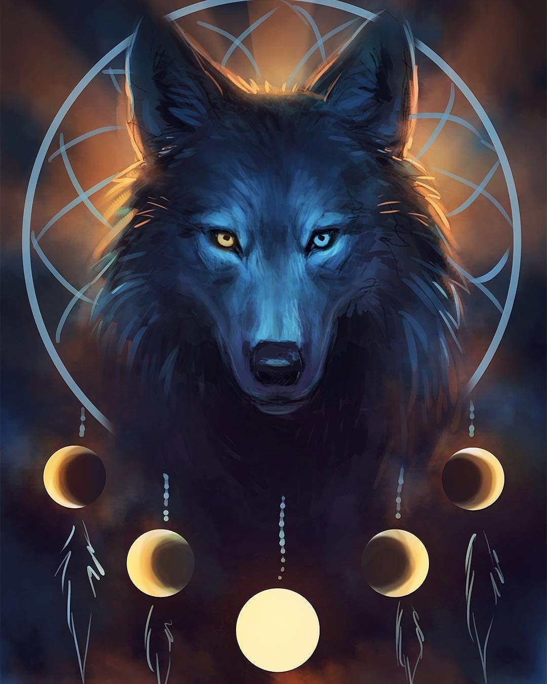 любопытных картинки волшебных волков на аву заставляет тощую подругу
