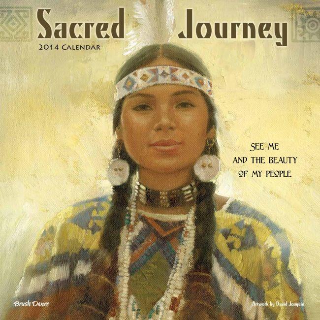 Sacred Journey Wall Calendar, art by David Joaquin www.brushdance ...