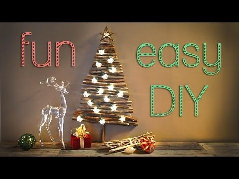 Download Video Christmas Decorations Creative Christmas Tree For Small Apartments Karacsonyi Dekoracio Karacsony Dekoracio