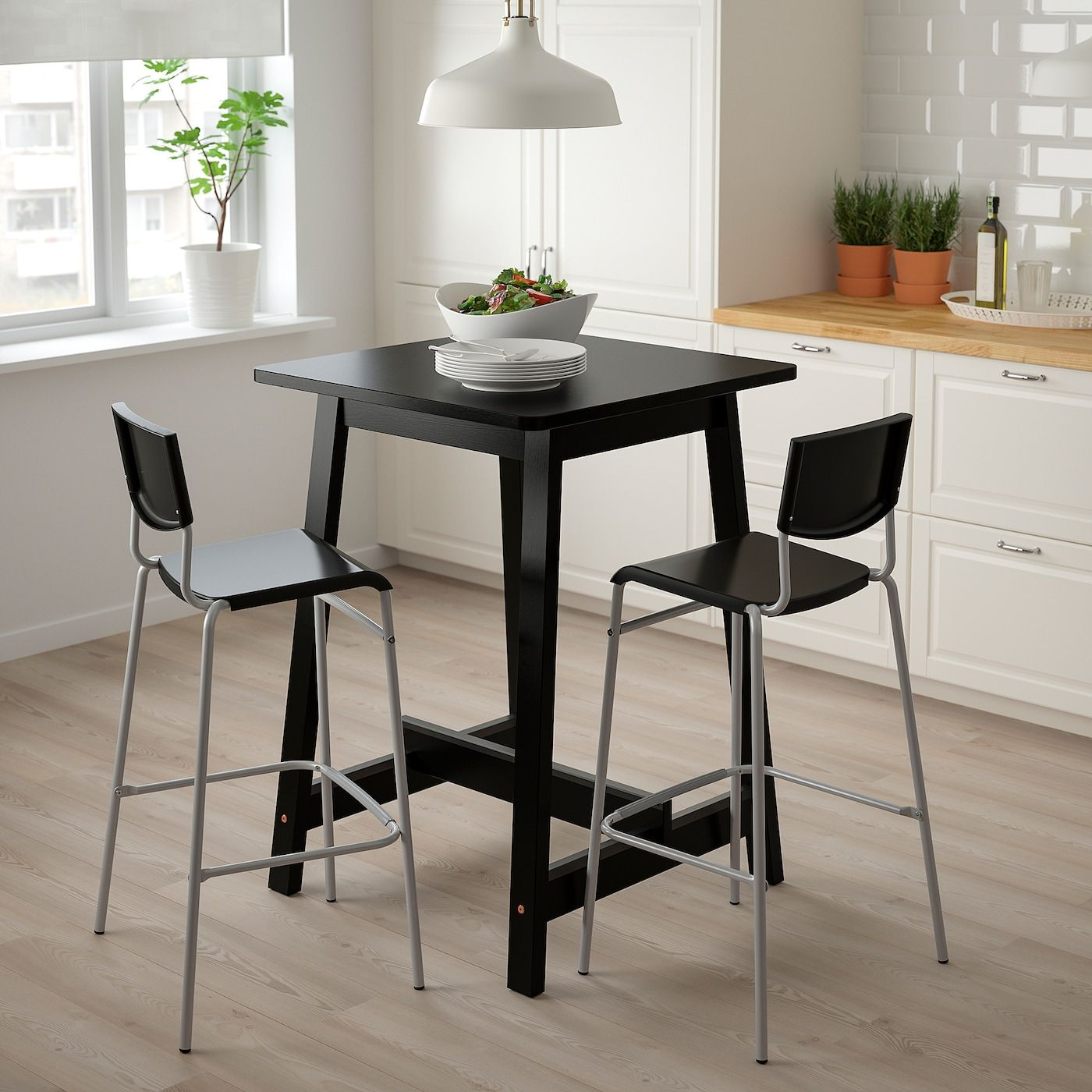 IKEA STIG Bar stool with backrest   Barkruk, Voetsteun, Vermoeide ...