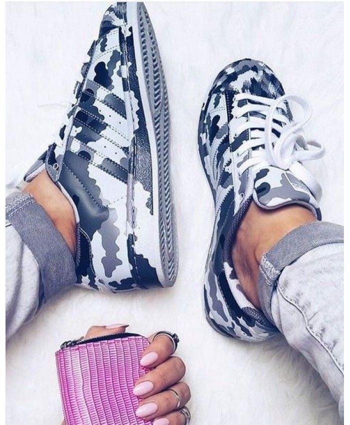 Adidas sneakers, Adidas superstar camo