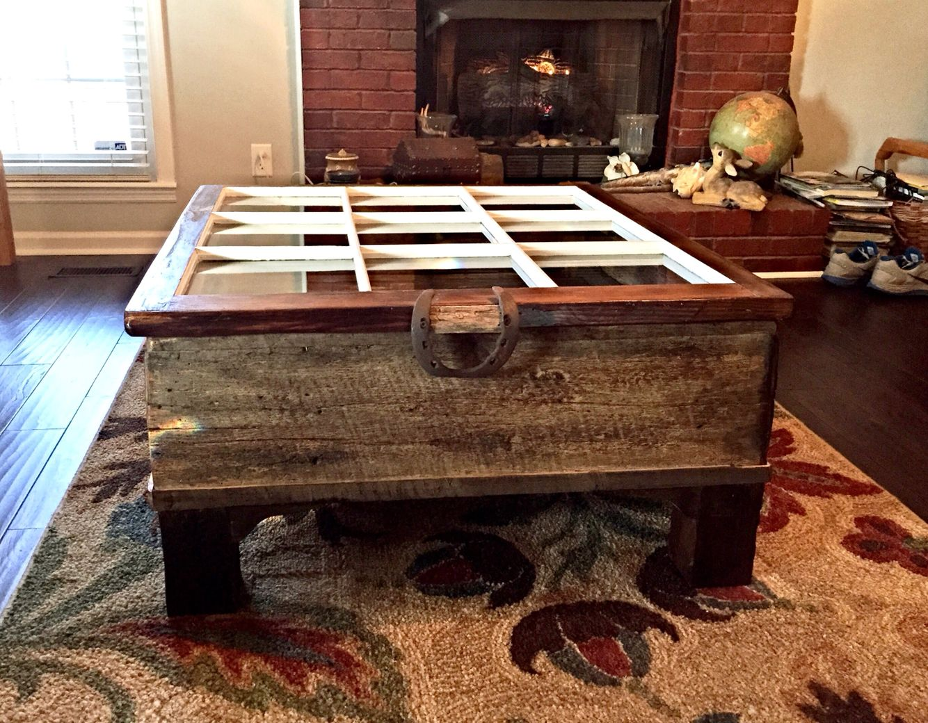 Rustic Shadow Box Coffee Table Built By Vintage Southern