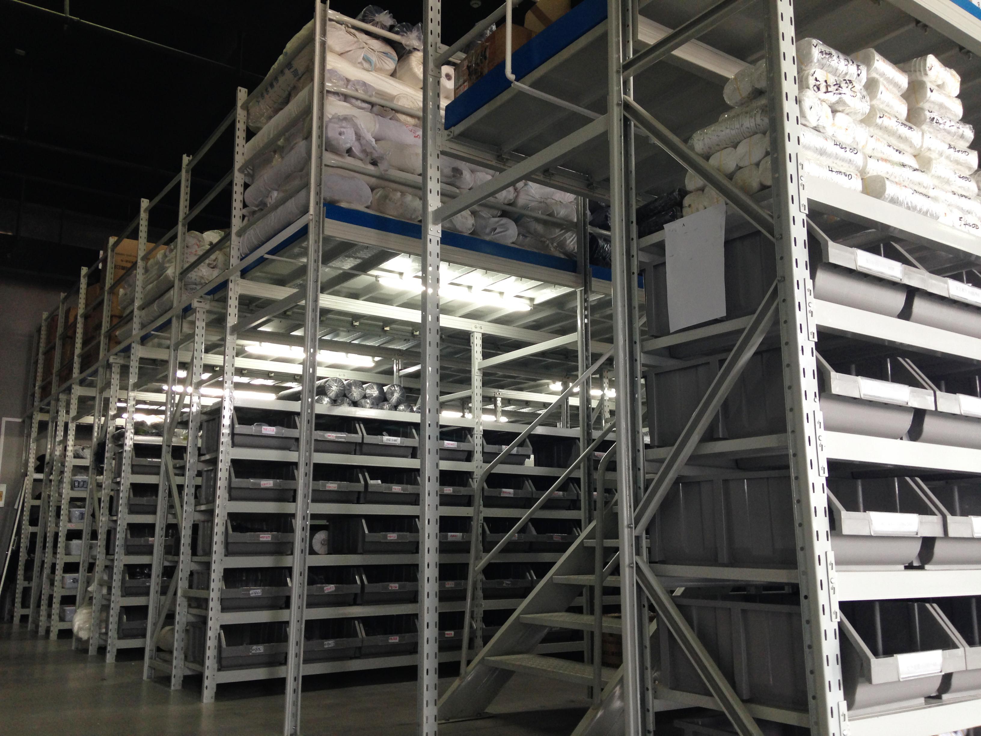 Mezzanine Platform Racking System With Pallet Racking Pallet Rack Racking System Mezzanine