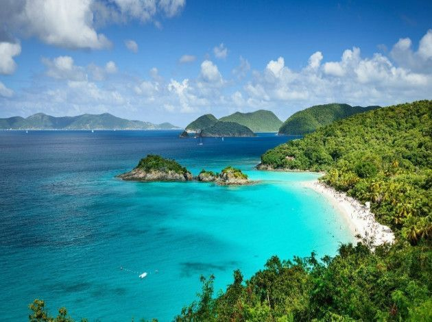 14 Budget-Friendly Beach Destinations In The US  Beaches vacation destinations, Beach honeymoon