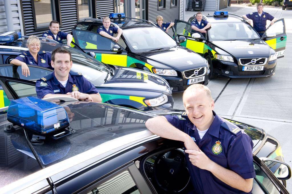 London Ambulance Service Volunteer Emergency Responders.