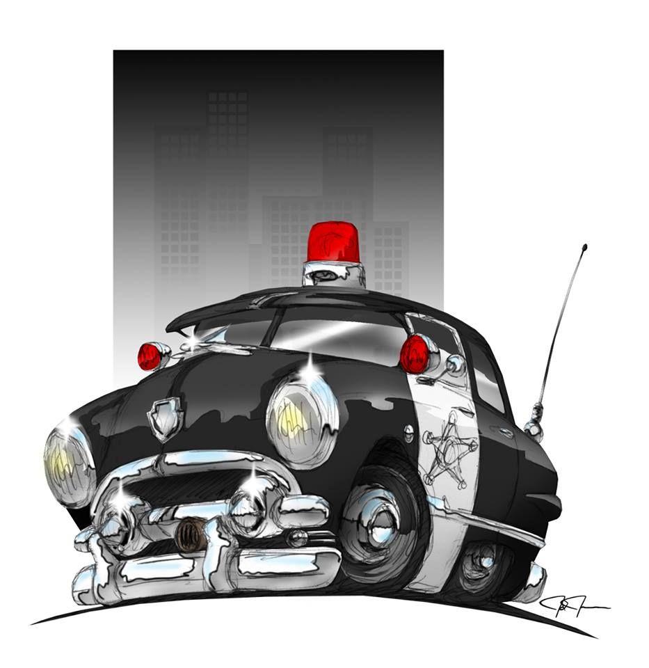 Police Car Cartoon Vector Image On Em 2020 Festa Infantil