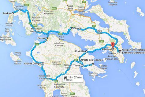 3 Semaines En Grece Entre Peloponnese Iles Ioniennes Grece