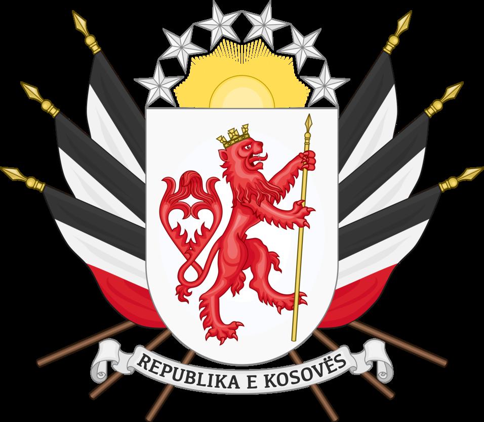 Coat Of Arms Of Kosovo By Houseofhesse Escudo De Armas Escudo