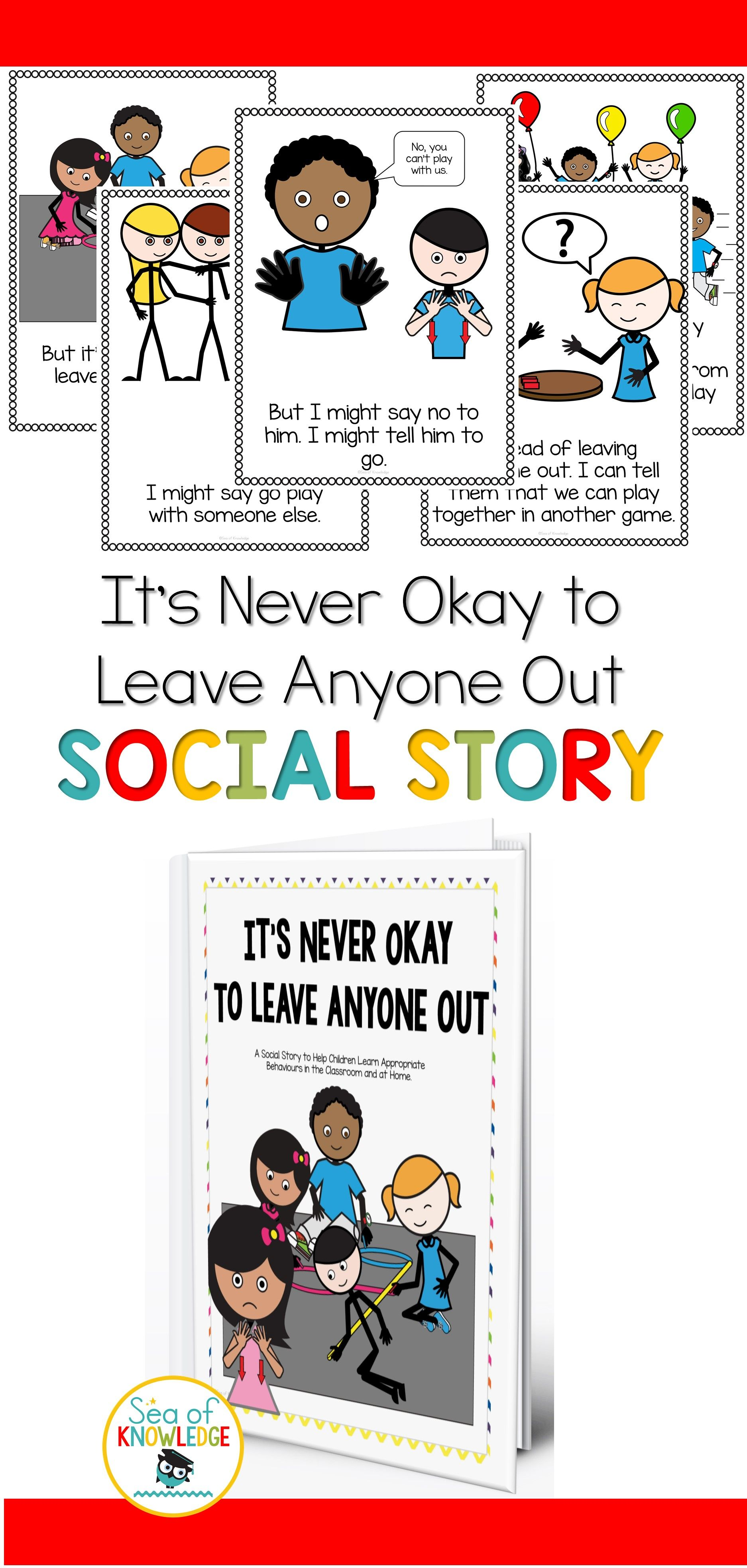 Social Story Joining Play Leaving Anyone Out