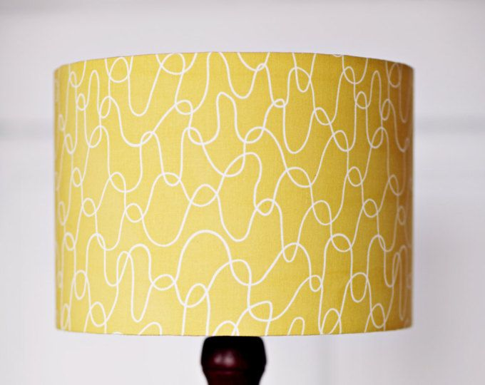 Lampshade scandinavian lamp yellow lamp shade mustard home decor shop for lamp shades on etsy the place to express your creativity through the buying and selling of handmade and vintage goods mozeypictures
