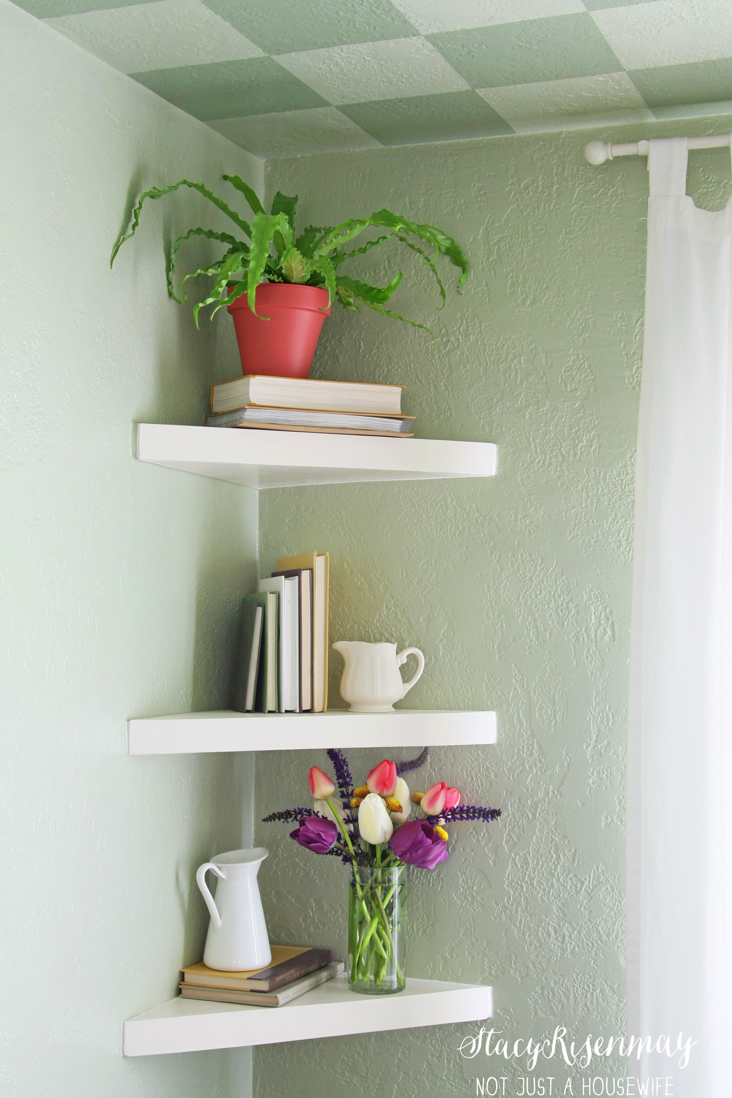 10 Different Ways To Style Floating Shelves Floating Shelves Living Room Decorating Shelves Floating Corner Shelves