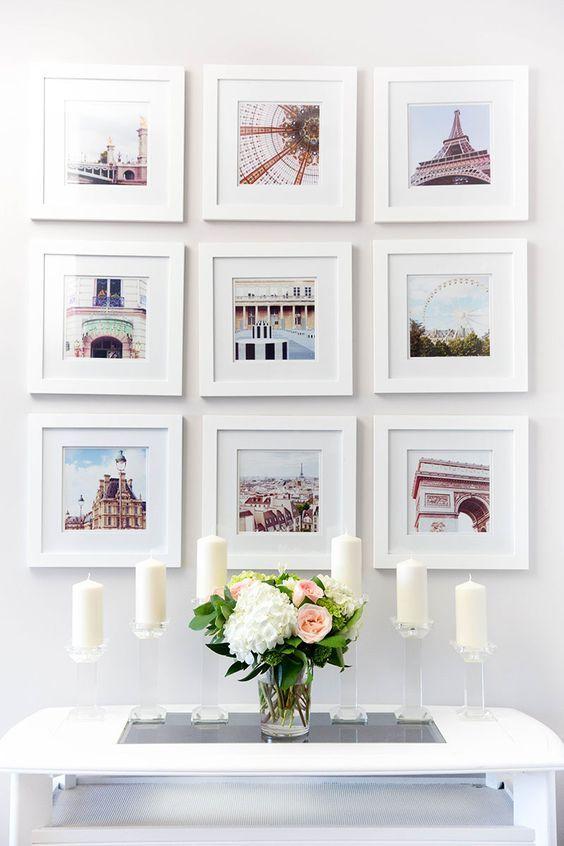 28-maneras-modernas-para-decorar-tu-sala-de-estar-con-cuadros (23 - cuadros para decorar