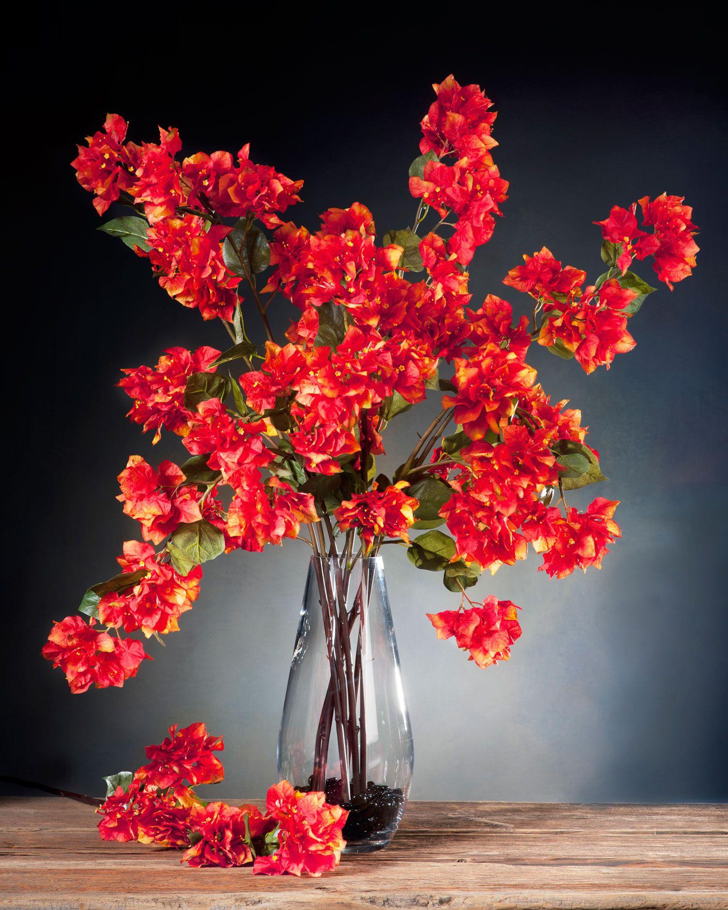 Bougainvillea Silk Flower Stems At Silkflowers Flowers For The