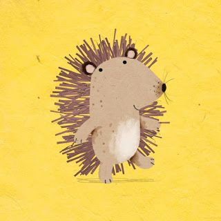 cally jane studio: Oh, hello hedgehog
