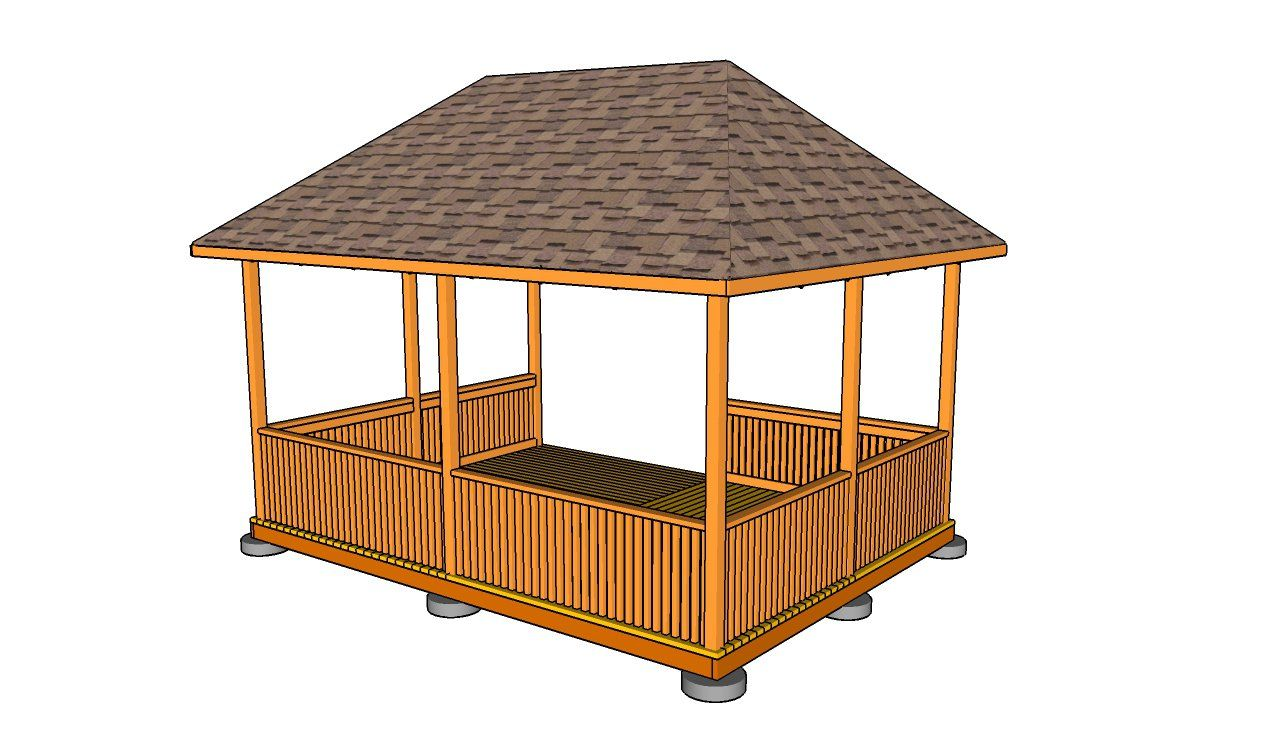 Gazebo Roof Plans | MyOutdoorPlans | Free Woodworking Plans And .