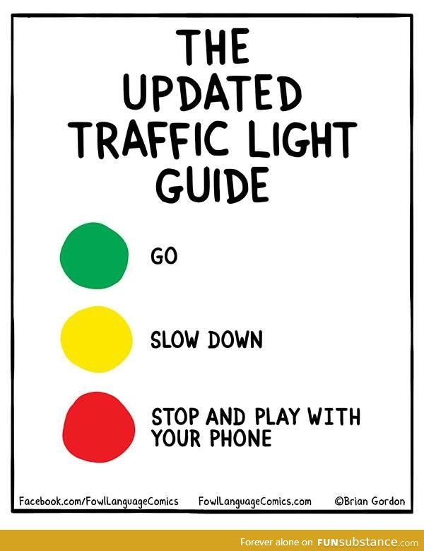 The Updated Traffic Light Guide.