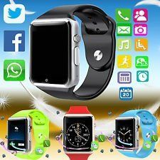 A1 Smart Wrist Watch Bluetooth Waterproof Gsm Phone For Android