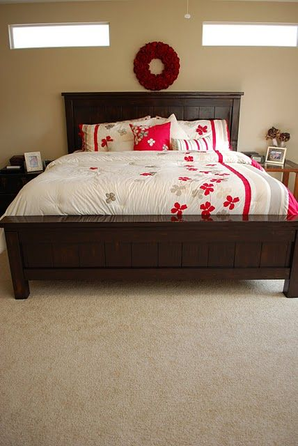Best Our Farmhouse Bed Small Bedroom Remodel Farmhouse 640 x 480