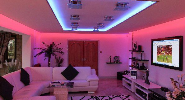 Just proof that there\'s so many different ideas for strip lights and ...