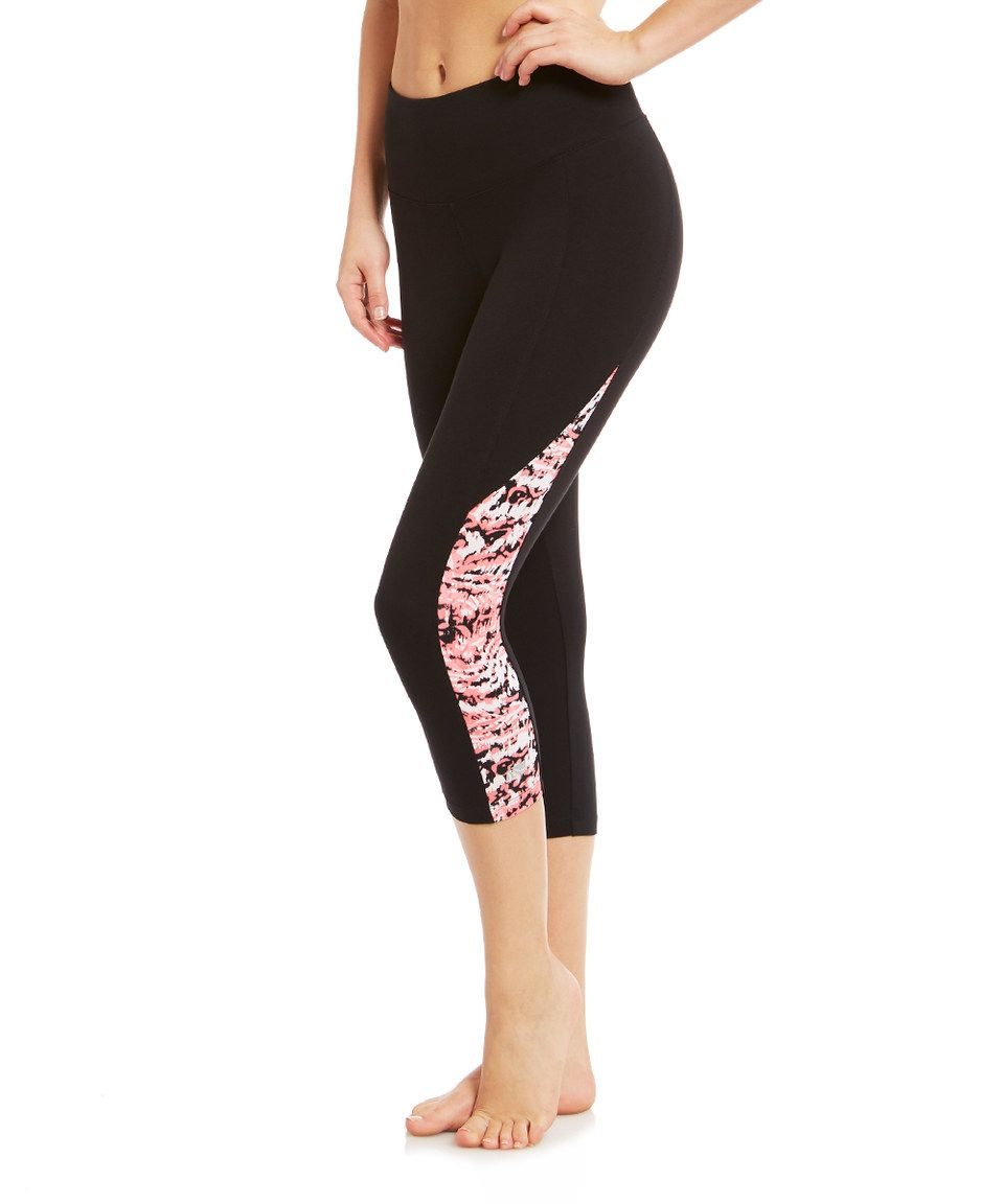 c7a1306fcd416 Look what I found on #zulily! Marika Coral Ice Control Capri Leggings by  Marika #zulilyfinds