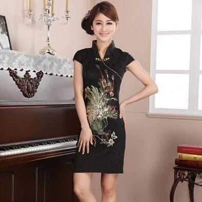 Robe soiree asiatique pas cher