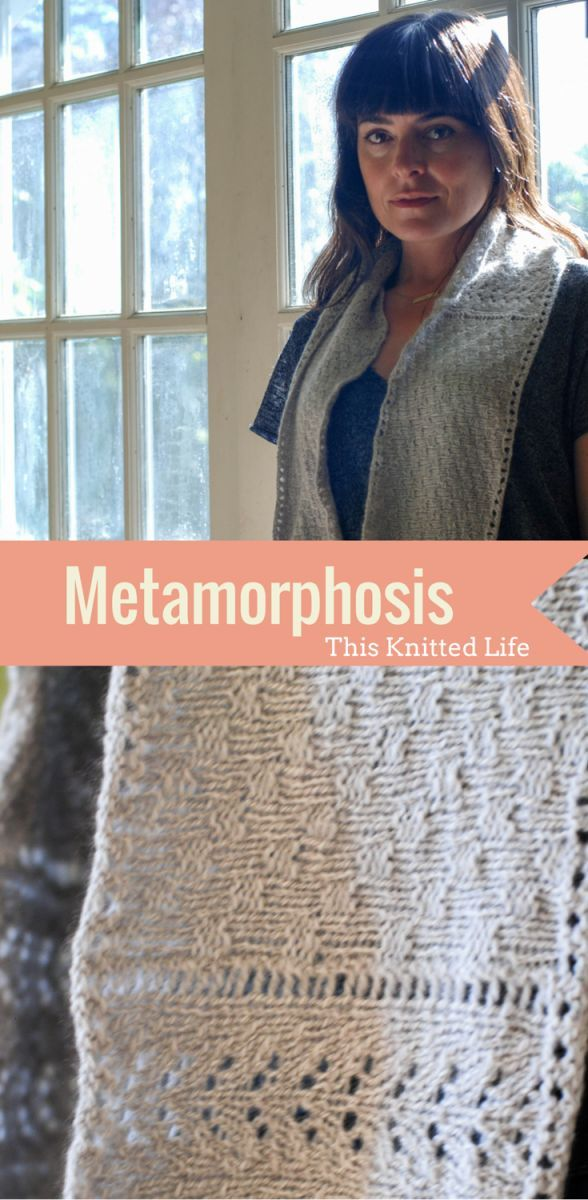 Metamorphosis Cowl Pattern Release | Strickideen und Stricken