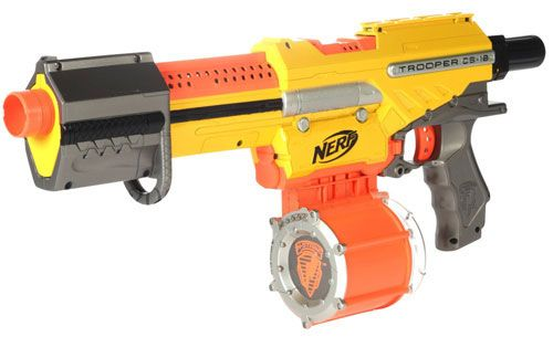 kids + nerf guns = hours of entertainment