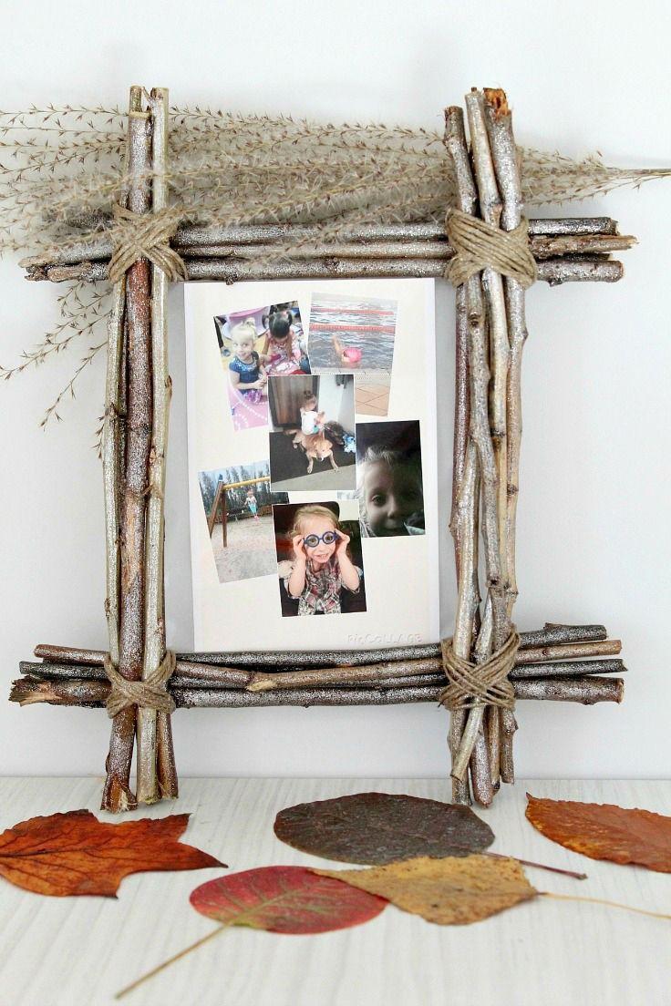 14 Unique & Cool Picture Frame Ideas | house decorations | DIY, Diy ...