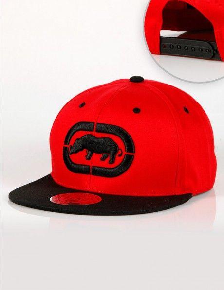 8358d82c844 Ecko Unltd. Logo Snapback Red Black €30