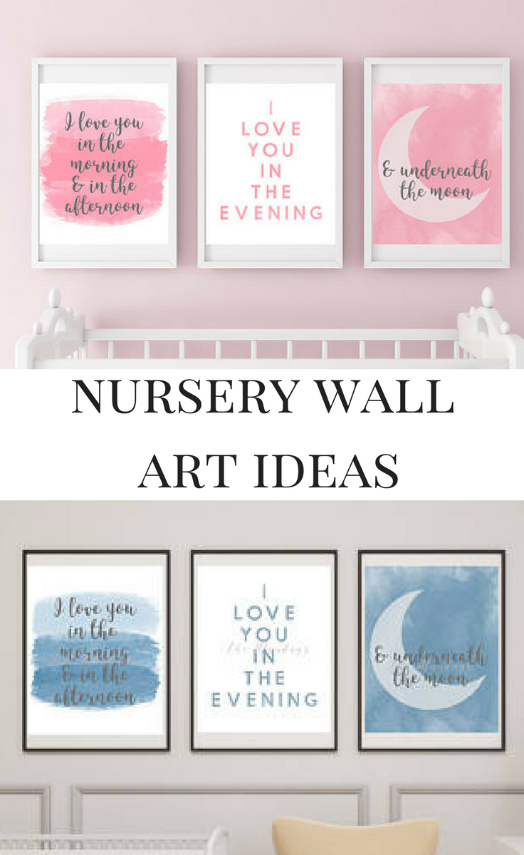 Love quotes wall art for nursery what a cute way to decorate your