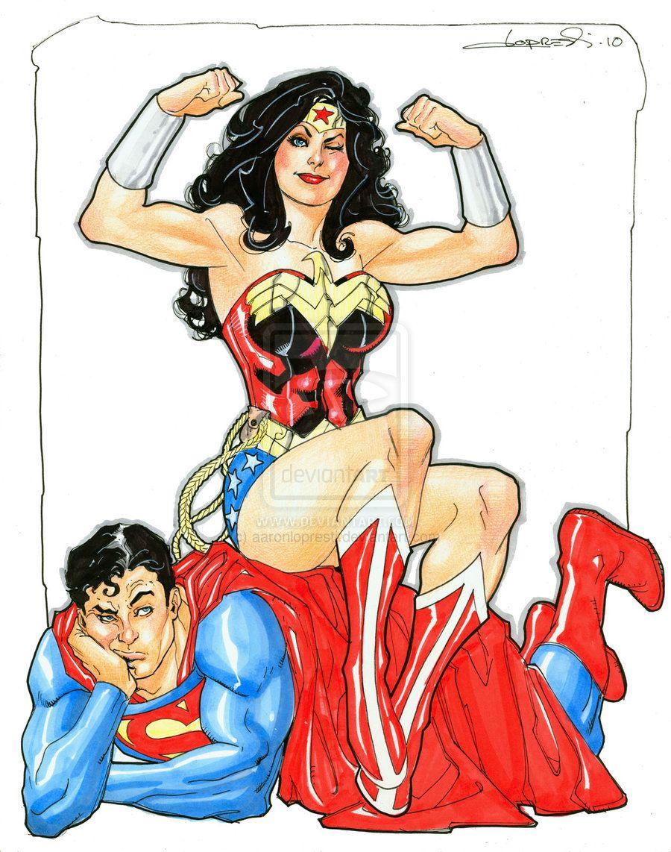 Wonder Woman Amazon Femdom Hypnosis