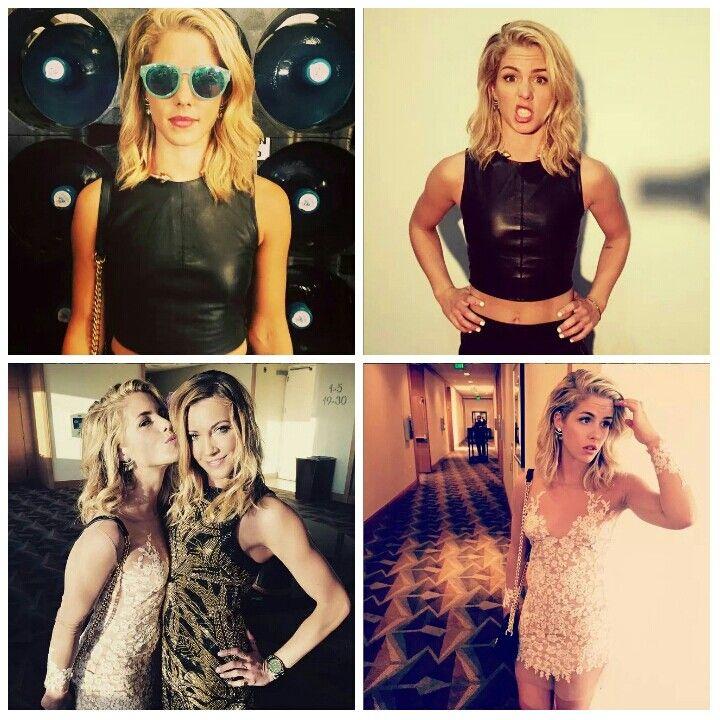 Emily Bett Rickards aka Felicity Smoak 2015