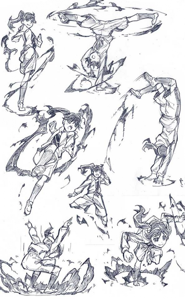 Picture 451857 Dynamic Drawing Battle Poses Art Reference Poses Art Poses Fighting Poses