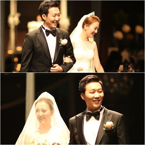 Korean Trot Music Elf Jang Yoon Jung To Finally Get Married To Her Groom Do Kyung Wan Asian Wedding Got Married Newlyweds