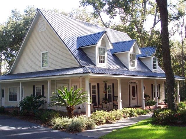 Florida Tin Roof Home Google Search Tin Roof House Metal Roof Colors Metal Roof Houses