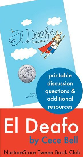 El Deafo Book Club Resources And Teaching Guide Nurturestore Books For Tweens Teaching Guides Book Club Books