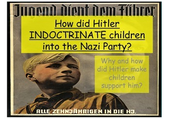 Nazi Germany - how did Hitler and the Nazis indoctrinate children in to the regime?
