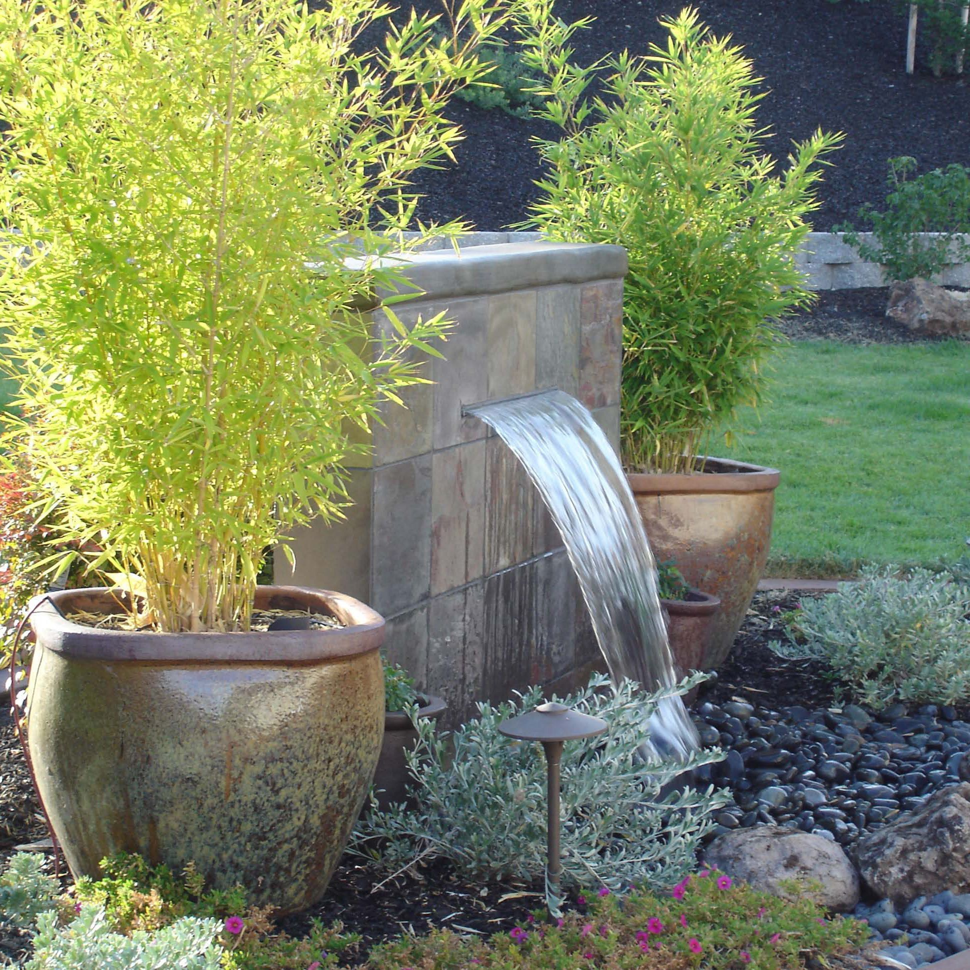 Garden Fountains Ideas 2 : DIY Bowl Fountain Great Garden Fountain .