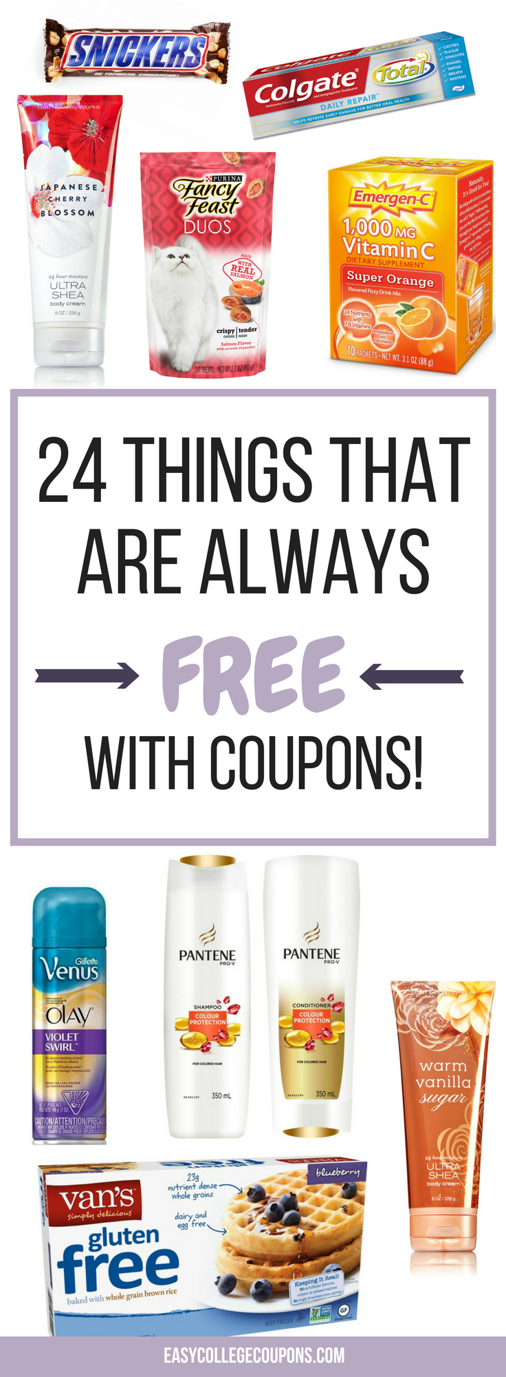 24 Things That Are Always Free With Coupons + 6 Things That Are Super Cheap!
