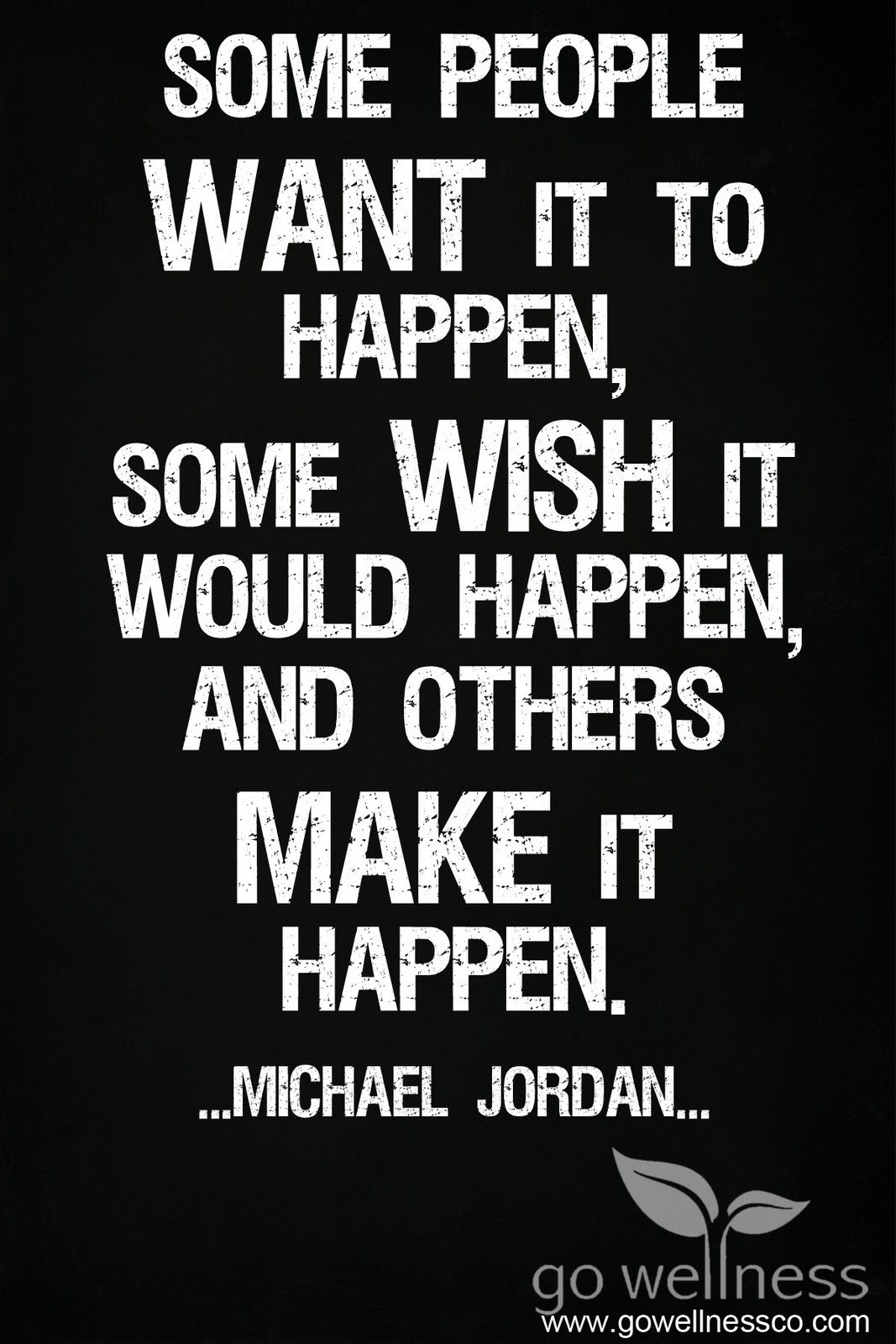 Thank you Mr. Jordan. One of my all time favorite quotes
