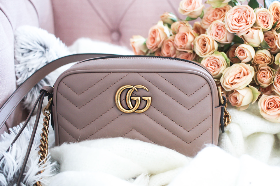 Spring It Bag: Gucci GG Marmont Matelassé Mini Bag + Giveaway!